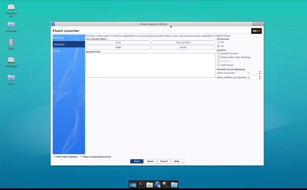 通过虚拟云桌面,用户可直接在Fluent的云原生界面做熟悉的操作