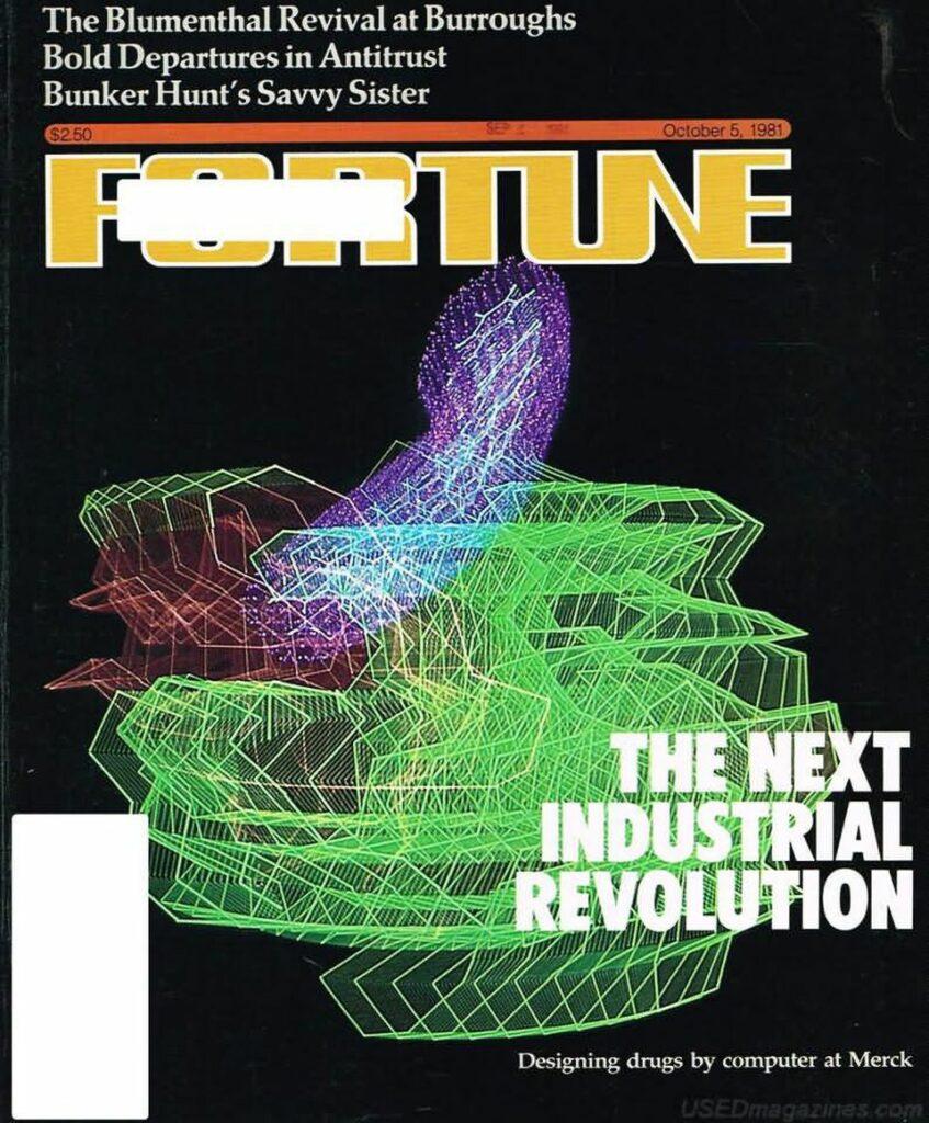下一次工业革命:默克公司通过计算机设计药物-财富杂志